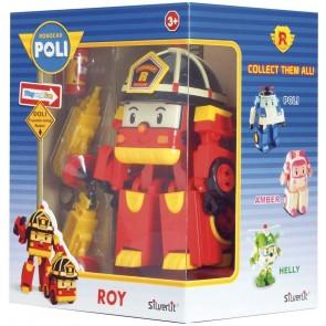 Robocar Poli Robot trasformabile con Luci-Roy