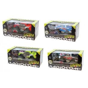Radiocom Pick Up Monster 4x4 Monster truck Motore elettrico 1:18
