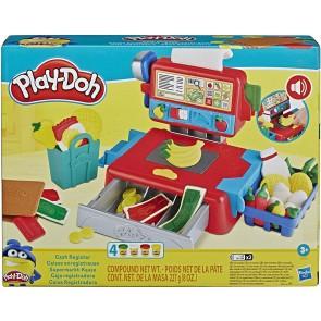 Play-Doh - Il registratore di Cassa (Playset con Suoni Divertenti, Accessori e 4 Colori di Pasta da Modellare)