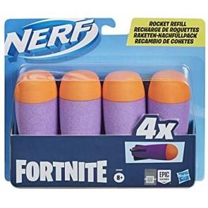 Nerf 4 Dardi (Ricarica per Blaster Fortnite)