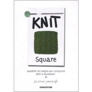 Knit square. Quadrati di maglia per comporre abiti e accessori di Do-Knit-yourself. Ediz. illustrata