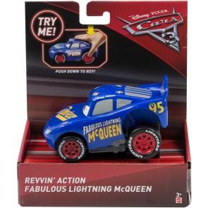 Cars 3 Veicolo Premi E Sfreccia. Saetta McQueen Blu