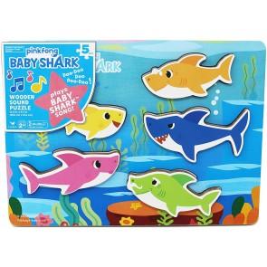 Baby Shark Puzzle In Legno, Con Melodia E Canzone Di Baby Shark