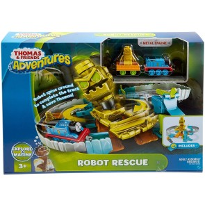 Thomas & Friends Il Trenino Thomas Robot Salvataggio