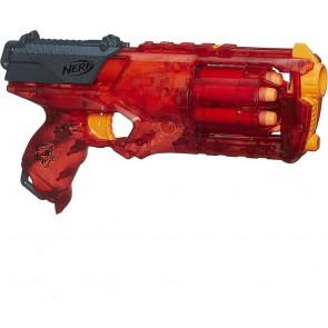 Nerf Sonic Fire Strongarm Pistola Giocattolo per Bambini con 6 Colpi Munizioni