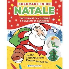 Natale. Colorare in 3D. Tante pagine da colorare tanti soggetti da costruire. Ediz. a colori