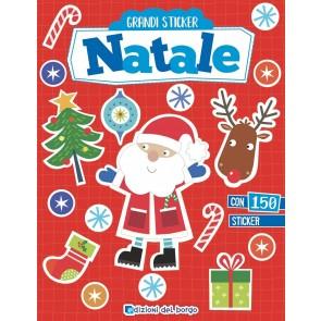 Natale. Grandi stickers. Con adesivi. Ediz. a colori