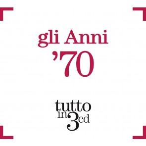 Gli Anni 70 Tutto in 3 cd (Box Set)