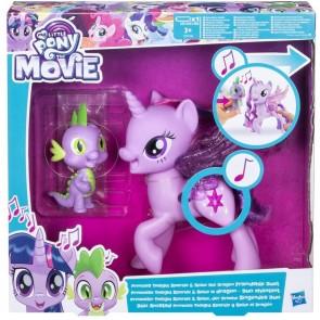 Twilight&Spike Cantanti My Little Pony