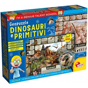 I'm a Genius geopuzzle dinosauri