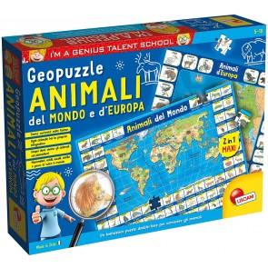I'm a Genius geopuzzle animali