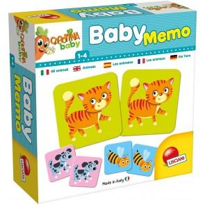 Carotina baby memoria animali