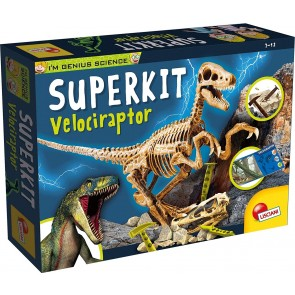 I'm a Genius Science super kit velociraptor