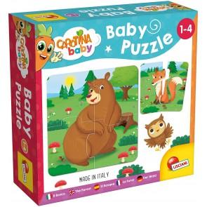 Carotina Baby Puzzle Il Bosco