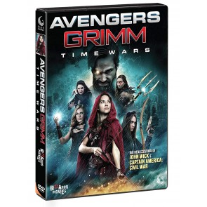 Avengers Grimm Time Wars DVD