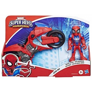 Super Hero Adventures Mega Mini Motorcycle Spiderman