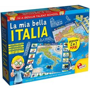 I'm a Genius geopuzzle la mia bella italia