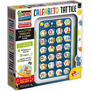 Giocare Educare Montessori alfabetiere tattile elettronico