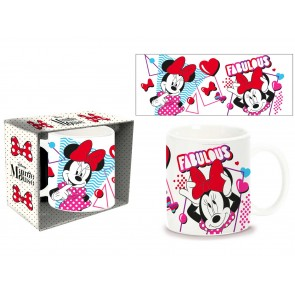Minnie. Tazza Mug in ceramica. Disney