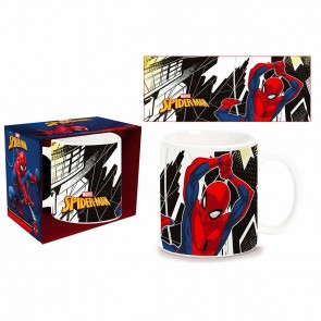 Spider-man. Tazza mug in ceramica. Marvel