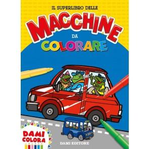 Il superlibro delle macchine da colorare. Ediz. a colori