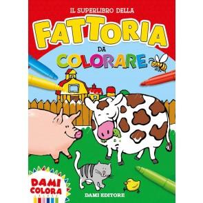 Il superlibro della fattoria da colorare. Ediz. a colori
