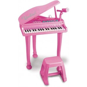 Barbie pianoforte a coda con sgabello