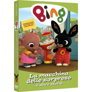 Bing. La macchina delle sorprese DVD