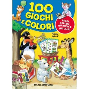 100 giochi e colori. Gioca e impara. Ediz. a colori