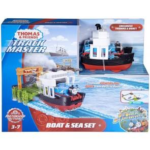 Thomas e Friends Boat e Sea Set Nave + Pista TrackMaster