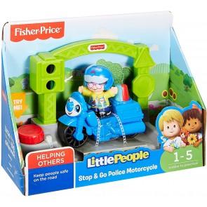 Little People Moto della polizia stop e go