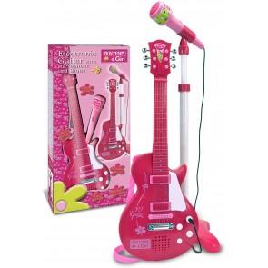 Chitarra Rock con Microfono da Palcoscenico per L'Amplificazione Della Voce