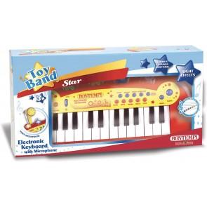 Toy Band Star. Tastiera Elettronica a 24 Tasti con Microfono.