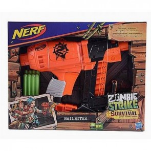 Nerf Zombie Strike Survival + 8 colpi elite