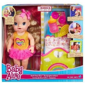 Baby Alive Darci Ballerina con Accessori Inclusi