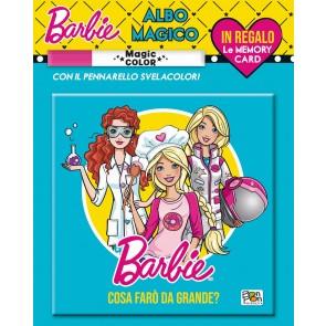 Cosa farò da grande. Albo magico. Barbie. Ediz. a colori. Con gadget
