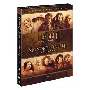 Lo Hobbit + Il Signore degli Anelli. Le trilogie DVD