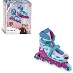 Frozen 2. Pattini in linea taglia 33-36