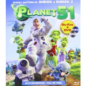 Planet 51 DVD + Blu-Ray