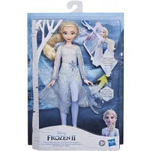 Frozen 2. Elsa Potere di Ghiaccio (Fashion Doll con luci e suoni ispirata al film Disney Frozen 2)