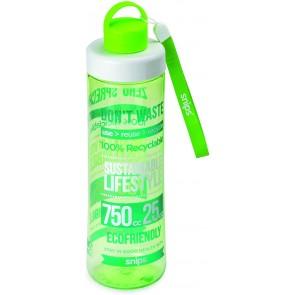 Bottiglia in Tritan 0,75 LT Decoro Eco Green