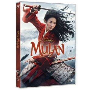 Mulan Live Action DVD