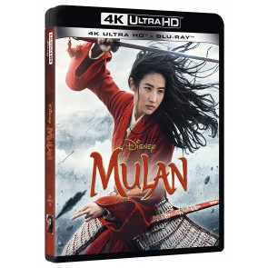 Mulan Live Action (Blu-ray + Blu-ray Ultra HD 4K)
