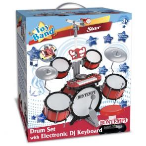 Toy Band Star Batteria con tastiera Elettronica