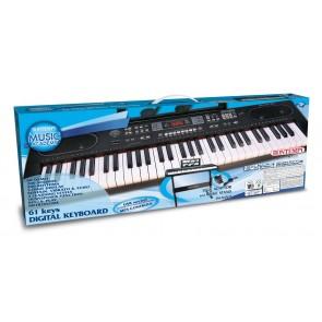 Music Academy Tastiera 61 Tasti. Polifonia 10 Note 200 Suoni