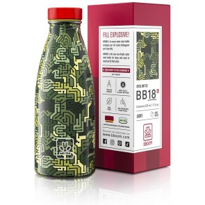 BBOOM Bottiglia Acciaio Inossidabile Senza BPA 520 ml
