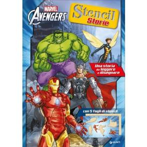 Avengers. Stencil storie. Ediz. illustrata