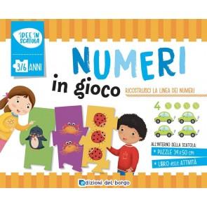 I numeri in gioco. Ediz. a colori. Con puzzle
