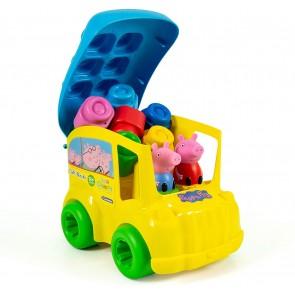 Soft Clemmy Secchiello Bus Peppa Pig