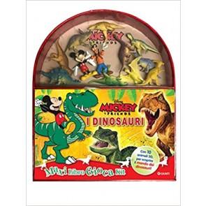 I dinosauri. Mickey & friends. Maxi libro gioca kit. Ediz. a colori. Con gadget